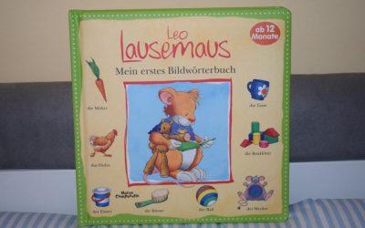 Leo Lausemaus Mein erstes Bilderwörterbuch 400x250 - Leo Lausemaus - Mein erstes Bilderwörterbuch