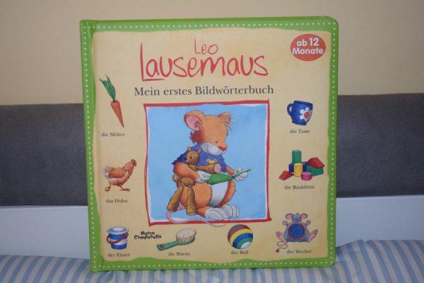 Leo Lausemaus Mein erstes Bilderwörterbuch 600x400 - Leo Lausemaus - Mein erstes Bilderwörterbuch