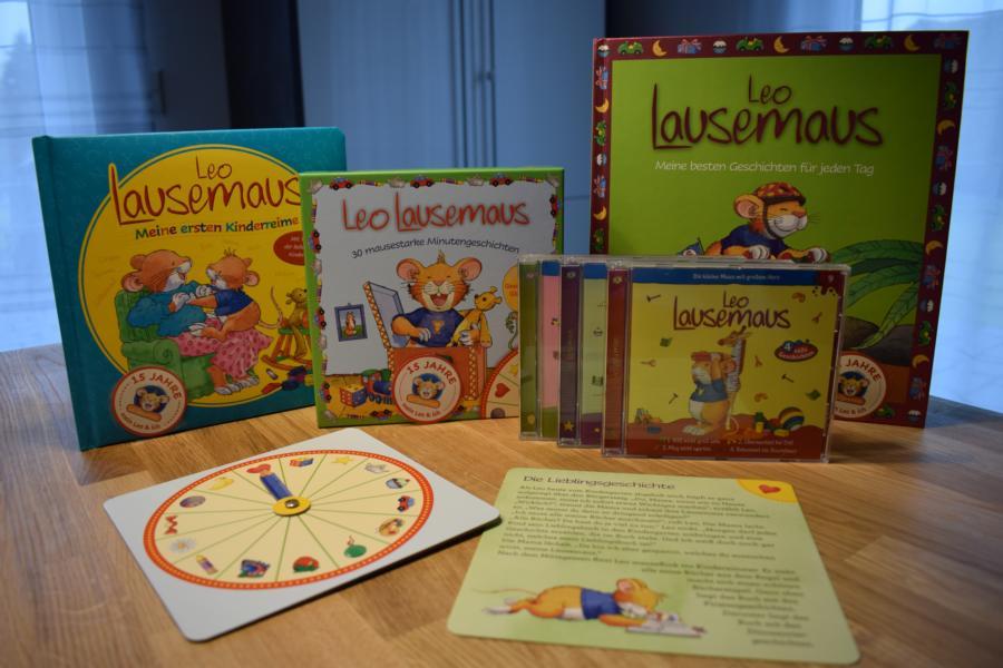 Rezension: Leo Lausemaus Bücher und Hörspielspaß anlässlich des 15jährigen Jubiläums