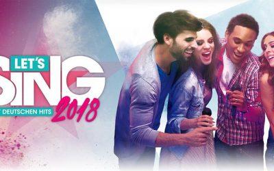 Lets Sing 2018 mit deutschen Hits 1 400x250 - Rezension: Let's Sing 2018 mit deutschen Hits