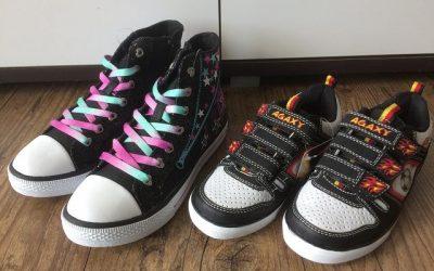 Leucht Sneakers von Deichmann 1 400x250 - Produkttest: Leucht-Sneakers von Deichmann