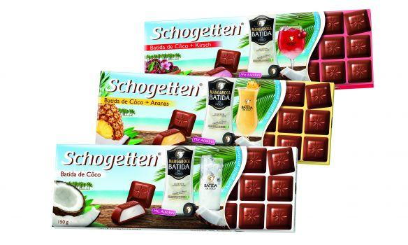 Limited Edition Schogetten Batida de Côco