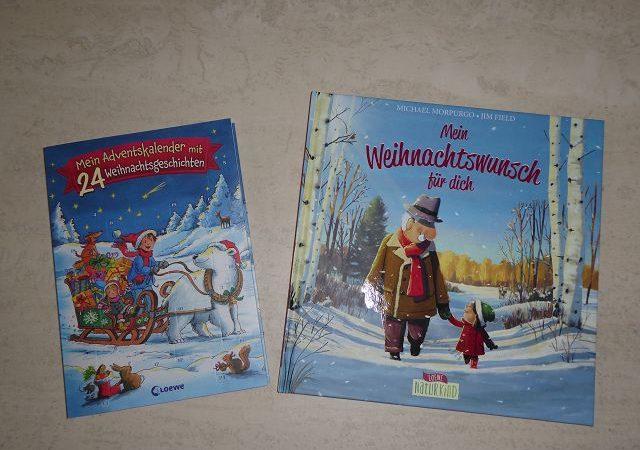 Adventskalender Tür 8: Buch Mein Weihnachtswunsch für dich