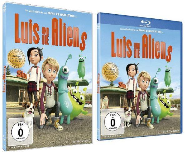 Luis und die Aliens auf DVD und Blu-ray