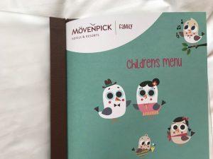 Mövenpick Hotel Berlin Kinder Speisekarte 1 300x225 - Familienurlaub im Mövenpick Hotel Berlin