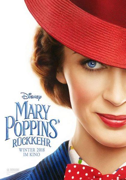 MARY POPPINS RÜCKKEHR Filmplakat