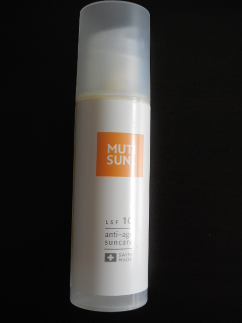 Testbericht: MUTISUN Anti Aging Sonnenmilch von MUTICARE