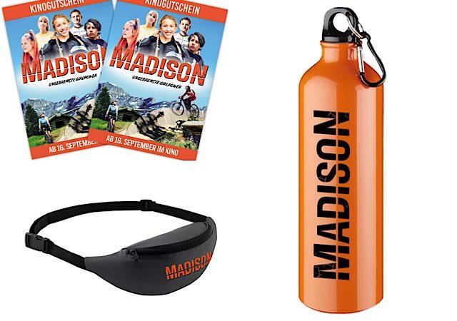 Gewinnspiel: MADISON Fanpakete