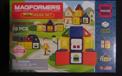 Magformers WOW House Set 1 400x250 - Produkttest-Magformers - Wow House-Set