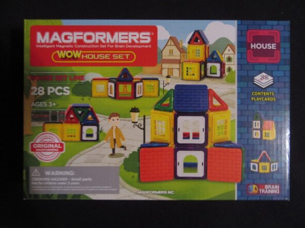Magformers WOW House Set 1 600x450 - Produkttest-Magformers - Wow House-Set