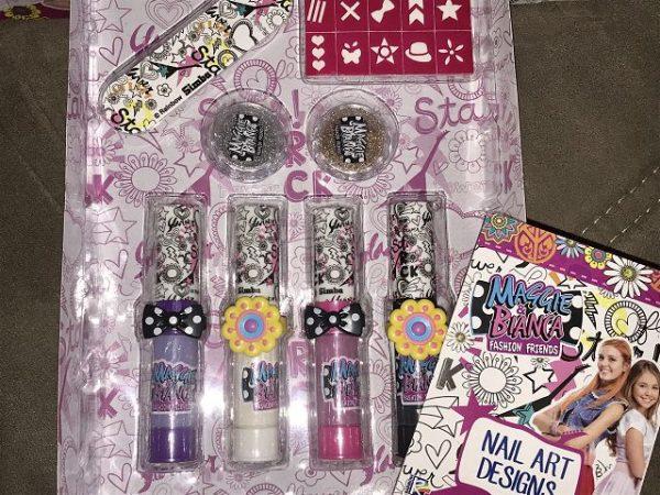 Maggie & Bianca Nail Art Glam Set