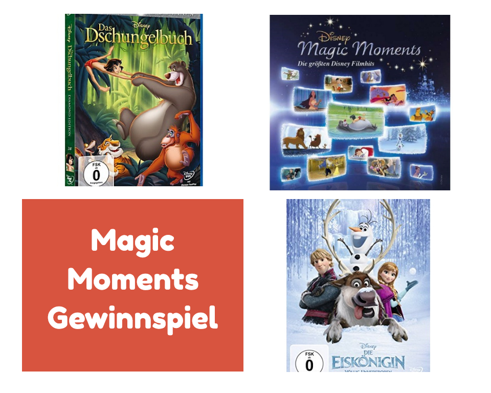 Magic Moments Gewinnspiel - Gewinnspiel: DISNEY MAGIC MOMENTS