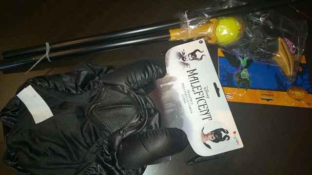 Produkttest: Maleficent Hörner und Zepter von Funidelia
