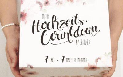 Mein Hochzeits Countdown Kalender im Test 400x250 - Mein Hochzeits-Countdown-Kalender