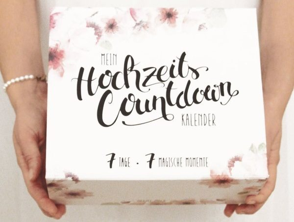Mein Hochzeits Countdown Kalender im Test 600x453 - Mein Hochzeits-Countdown-Kalender