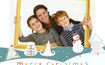 Merry Christmas dieTestfamilie 400x250 - Tipps für das Versenden von Weihnachtspost