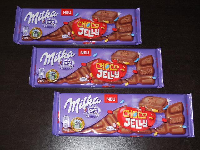 Gewinnspiel – Milka Choco Jelly mit dem WOW-Effekt