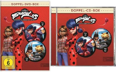 Miraculous CD + DVD Doppel-Box Folge 11 + Folge 12
