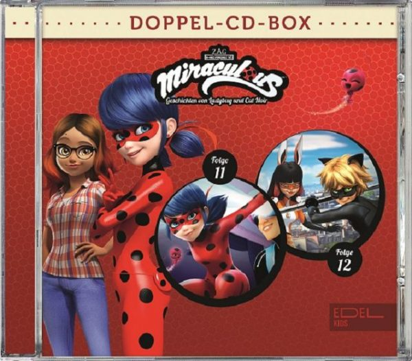 Miraculous CD Doppel-Box Folge 11 + Folge 12