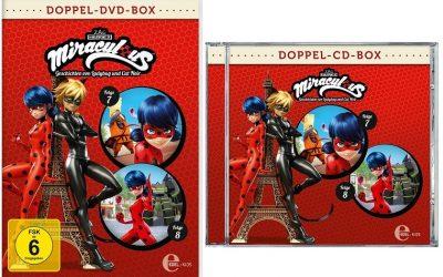 Miraculous Folge 7 + 8 Doppelbox Gewinnspiel