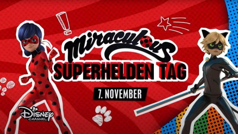 Gewinnspiel – Miraculous Superhelden Tag