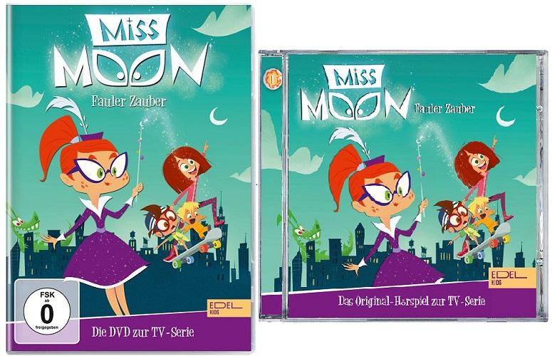 Gewinnspiel: Miss Moon als DVD und Hörspiel