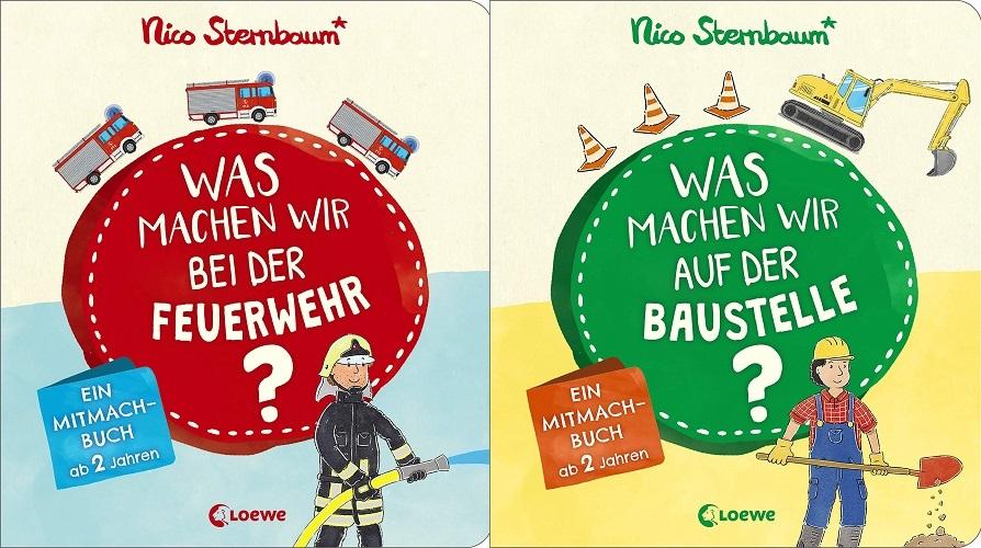 Ferien-Gewinnspiel: Mitmachbücher von Nico Sternbaum