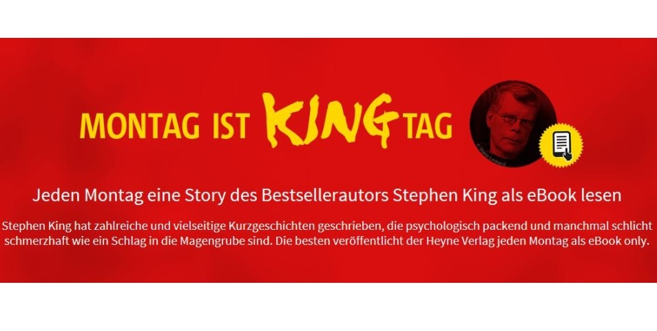 Montag ist Kingtag - MONTAG IST KINGTAG – OMI von Stephen King