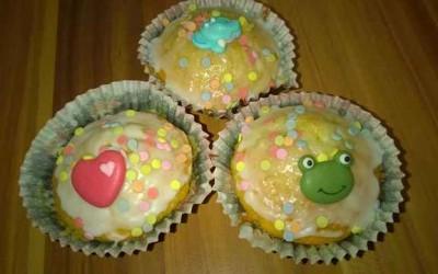 Muffin Rezept für Kinder 400x250 - Rezept: Muffins, schnell und einfach