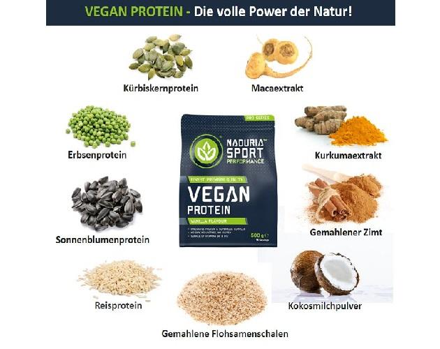 NADURIA SPORT 1 - Tester gesucht: NADURIA SPORT - vegan, proteinreich, sexy