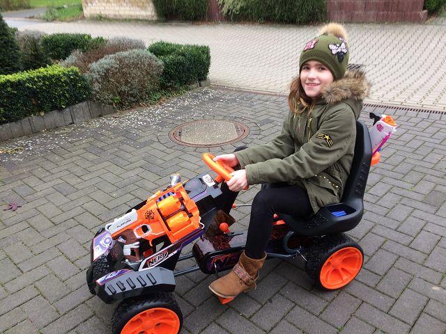 Produkttest: Nerf Battle Racer Go-Kart von Hauck
