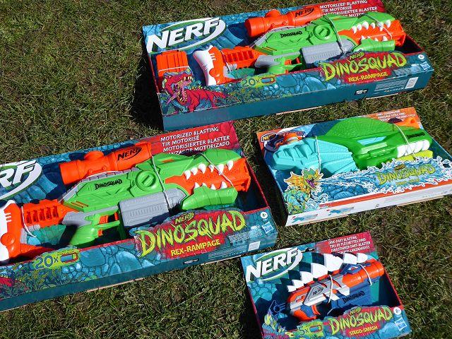 Produkttest: Nerf DinoSquad Blaster