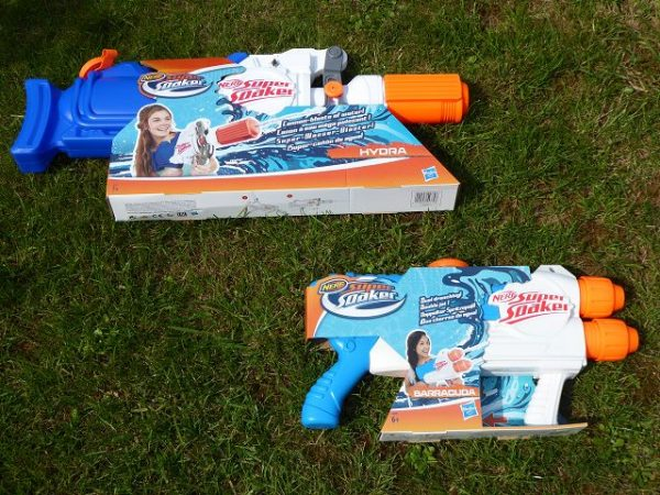 Nerf Super Soaker Hydra und Super Soaker Barracuda 8 600x450 - Produkttest: Nerf Super Soaker Hydra und Super Soaker Barracuda