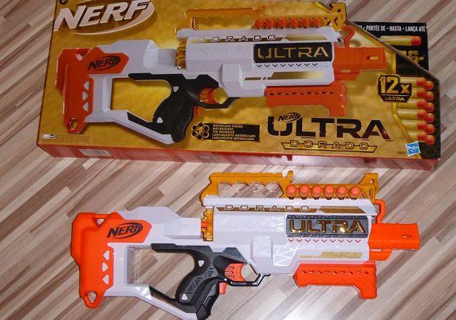Produkttest: Nerf Ultra Dorado von Hasbro