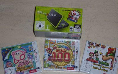 New Nintendo 2DS XL inkl. Mario Kart 7 4 400x250 - New Nintendo 2DS XL inkl. Mario Kart 7 + andere Spiele