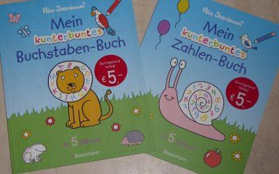 """Nico Sternbaum Mein kunterbuntes Zahlen Buch und Mein kunterbuntes Buchstaben Buch 2 400x250 - Rezension: Nico Sternbaum """"Mein kunterbuntes Zahlen-Buch"""" und """"Mein kunterbuntes Buchstaben-Buch"""""""
