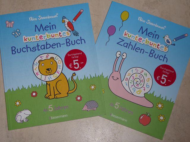 "Rezension: Nico Sternbaum ""Mein kunterbuntes Zahlen-Buch"" und ""Mein kunterbuntes Buchstaben-Buch"""