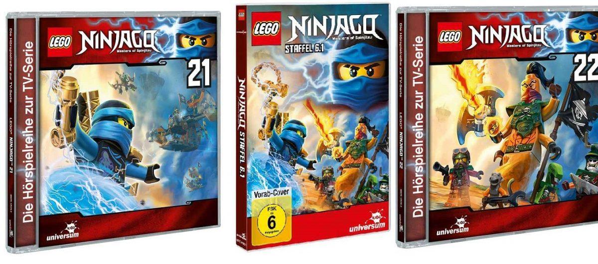 Gewinnspiel: Ninjago DVD6 und CD 21+22