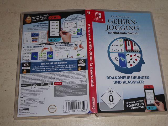Produkttest: Nintendo Switch Spiel Dr. Kawashimas Gehirn-Jogging