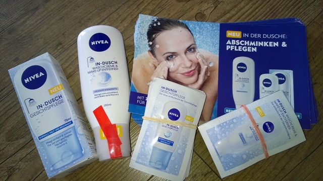 Produkttest: Nivea In-Dusch Waschcreme & Make-up Entferner