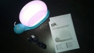 OK Nachtlicht Schnecke im Test (2)