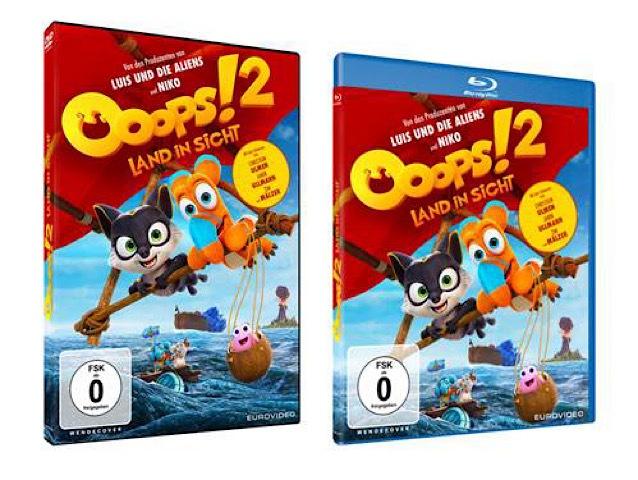 Gewinnspiel: OOOPS! 2 – LAND IN SICHT