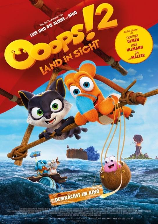 OOOPS! 2 – LAND IN SICHT-Gewinnspiel