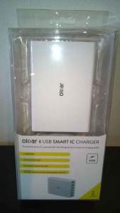 Olixar 6 Slot USB Smart IC Ladegerät (1)