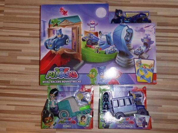 PJ Masks Rival Racers Rennstrecke und Figuren 5 600x450 - Produkttest: PJ Masks Rival Racers Rennstrecke und Figuren