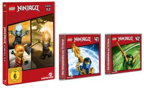 Gewinnspiel – LEGO Ninjago DVD 11.2, CDs 41, 42