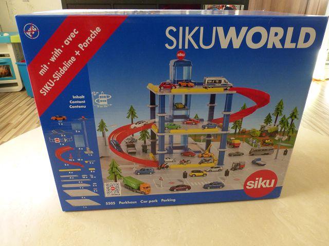 Parkhaus von Siku 3 - Produkttest: Sikuworld - Parkhaus von Siku 5505