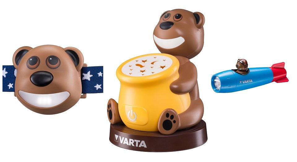 Gewinnspiel: Paul der Bär Kinderleuchten von VARTA