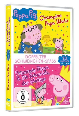 Gewinnspiel: Peppa Wutz Doppelpack