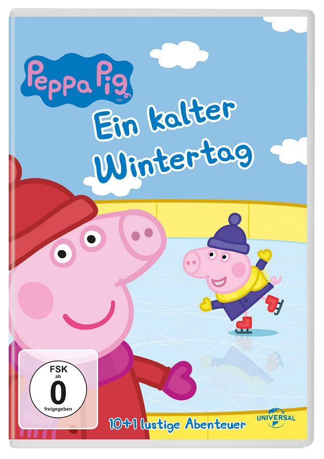 Gewinnspiel: Peppa Wutz – Ein kalter Wintertag DVD
